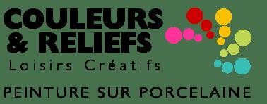 Peinture sur porcelaine – Couleurs et Reliefs Logo
