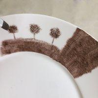 Le pinceau plat effilé
