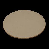 plaque ronde pour four à enfournement vertical température jusque 1280°